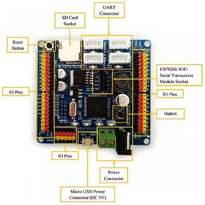 MA-01 IOT Magic Hobby Kit - ESP8266 【Mybotic Hobby Kit Series】+ 1 Year Product Defect Warranty